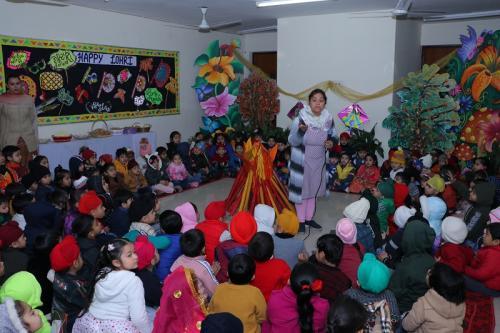 Lohri Celebration Sheened at Bal Bharati Public School